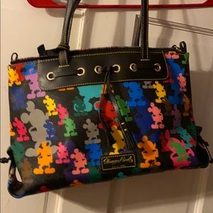 Disney Dooney and Burke tassel bag-wonder print